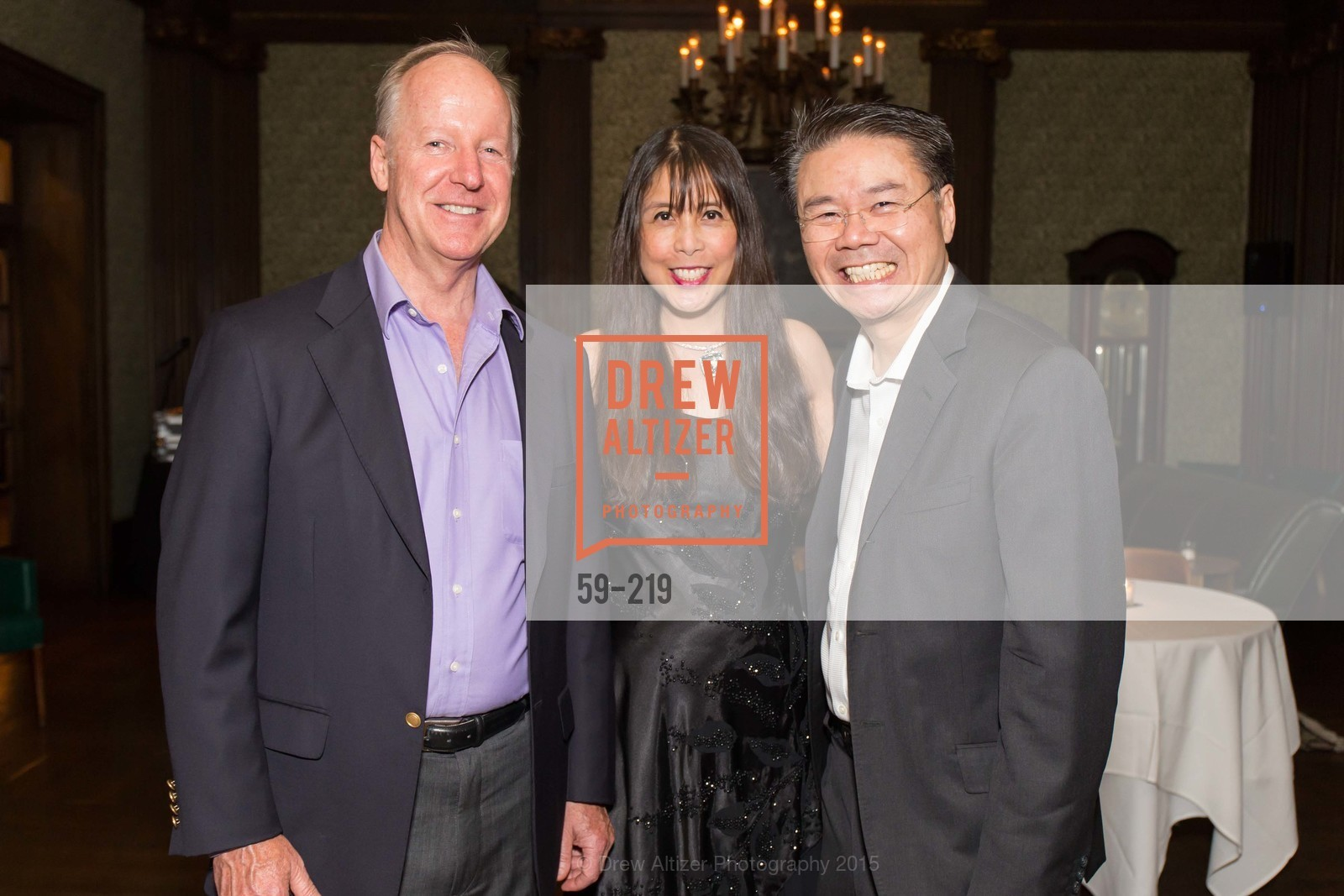 Stevens Manning, Magdalene Chen, Andrew Chen, Champagne Reception & Screening of Million Dollar Listing San Francisco, University Club. 800 Powell St, August 5th, 2015,Drew Altizer, Drew Altizer Photography, full-service agency, private events, San Francisco photographer, photographer california