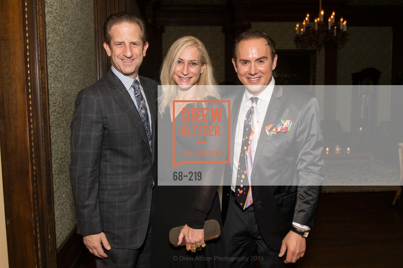 Robert Shwarts, Joni Binder, Joel Goodrich, Champagne Reception & Screening of Million Dollar Listing San Francisco, University Club. 800 Powell St, August 5th, 2015,Drew Altizer, Drew Altizer Photography, full-service agency, private events, San Francisco photographer, photographer california