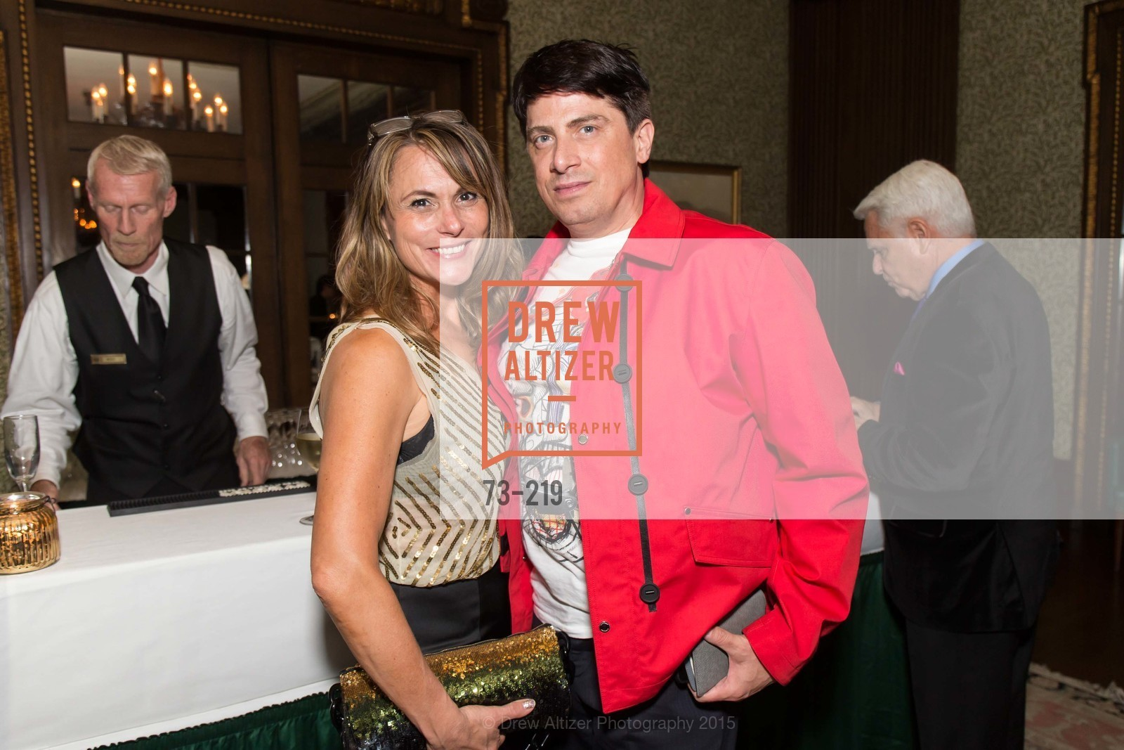 Teresa Rodriguez, Aubrey Brewster, Champagne Reception & Screening of Million Dollar Listing San Francisco, University Club. 800 Powell St, August 5th, 2015,Drew Altizer, Drew Altizer Photography, full-service agency, private events, San Francisco photographer, photographer california