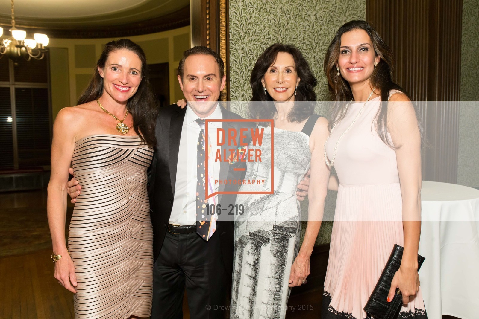 Anne Laury, Joel Goodrich, Carolyn Chandler, Leyla Alhosseini, Champagne Reception & Screening of Million Dollar Listing San Francisco, University Club. 800 Powell St, August 5th, 2015,Drew Altizer, Drew Altizer Photography, full-service agency, private events, San Francisco photographer, photographer california