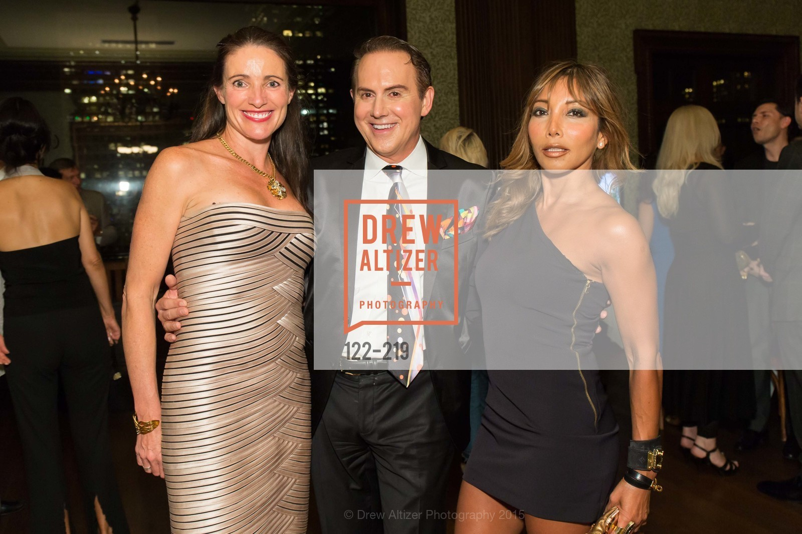 Anne Laury, Joel Goodrich, Karen Tamblyn, Champagne Reception & Screening of Million Dollar Listing San Francisco, University Club. 800 Powell St, August 5th, 2015,Drew Altizer, Drew Altizer Photography, full-service agency, private events, San Francisco photographer, photographer california