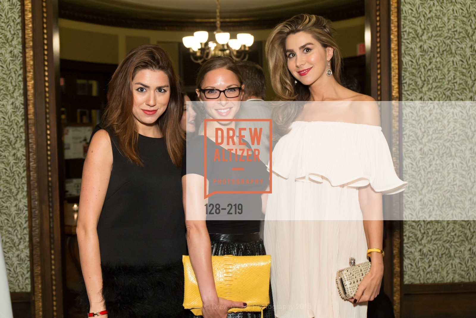 Roya Pakzad, Suzanne Rabicoff, Ronak Pakzad, Champagne Reception & Screening of Million Dollar Listing San Francisco, University Club. 800 Powell St, August 5th, 2015,Drew Altizer, Drew Altizer Photography, full-service event agency, private events, San Francisco photographer, photographer California