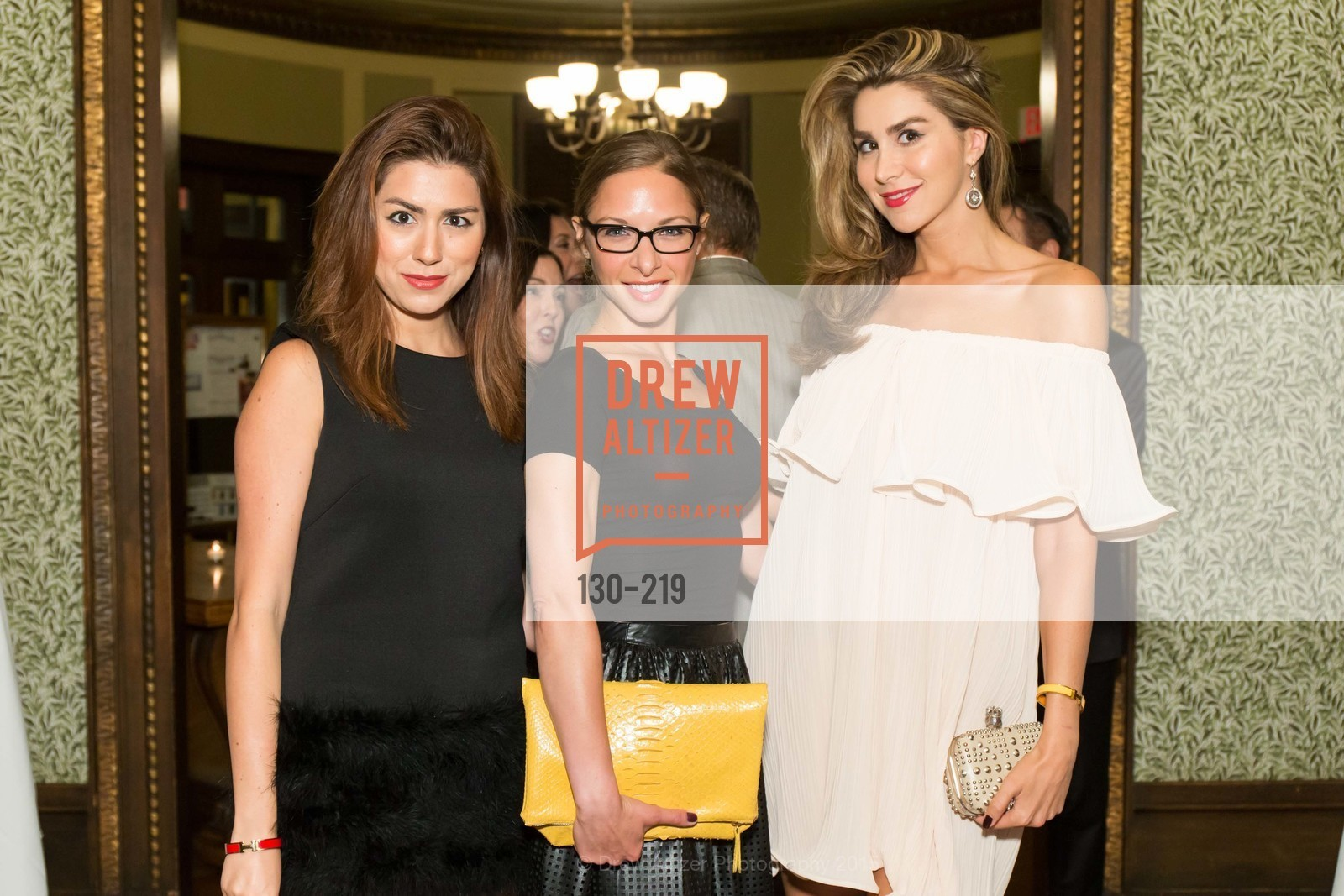 Roya Pakzad, Suzanne Rabicoff, Ronak Pakzad, Champagne Reception & Screening of Million Dollar Listing San Francisco, University Club. 800 Powell St, August 5th, 2015,Drew Altizer, Drew Altizer Photography, full-service agency, private events, San Francisco photographer, photographer california