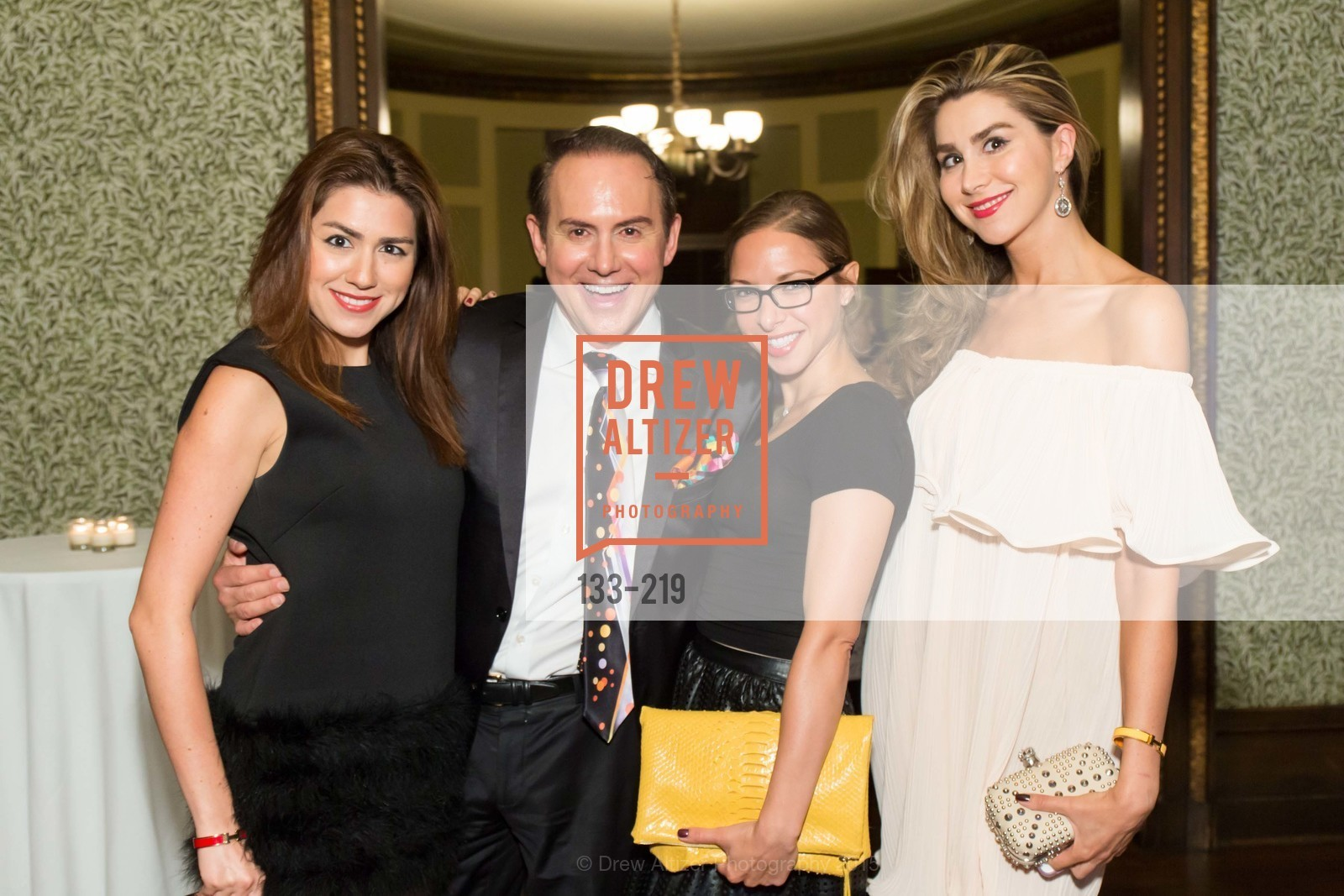 Roya Pakzad, Joel Goodrich, Suzanne Rabicoff, Ronak Pakzad, Champagne Reception & Screening of Million Dollar Listing San Francisco, University Club. 800 Powell St, August 5th, 2015,Drew Altizer, Drew Altizer Photography, full-service agency, private events, San Francisco photographer, photographer california