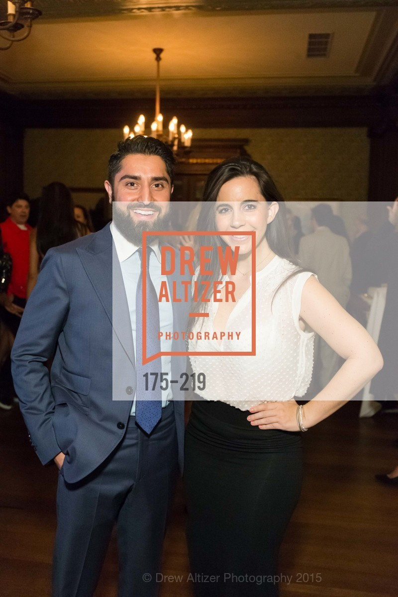 Roh Habibi, Samantha DeBianchi, Champagne Reception & Screening of Million Dollar Listing San Francisco, University Club. 800 Powell St, August 5th, 2015,Drew Altizer, Drew Altizer Photography, full-service agency, private events, San Francisco photographer, photographer california