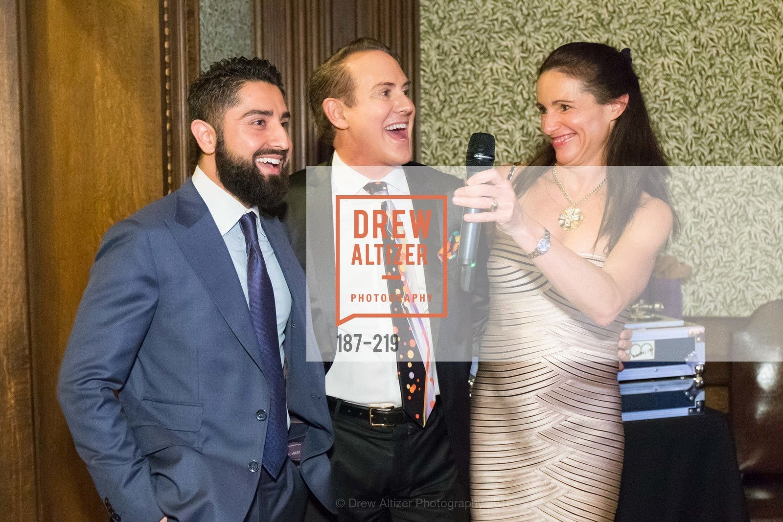 Roh Habibi, Joel Goodrich, Anne Laury, Champagne Reception & Screening of Million Dollar Listing San Francisco, University Club. 800 Powell St, August 5th, 2015,Drew Altizer, Drew Altizer Photography, full-service agency, private events, San Francisco photographer, photographer california