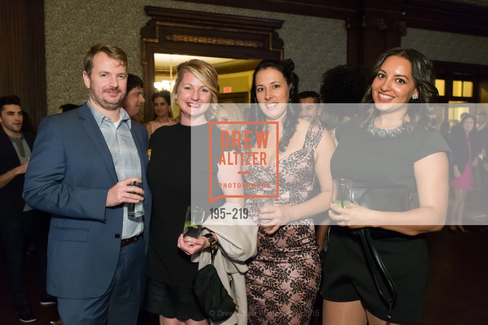 Brennan Plunkett, Jennifer Bracco, Amy Morrow, Rachel Rawls, Champagne Reception & Screening of Million Dollar Listing San Francisco, University Club. 800 Powell St, August 5th, 2015,Drew Altizer, Drew Altizer Photography, full-service event agency, private events, San Francisco photographer, photographer California