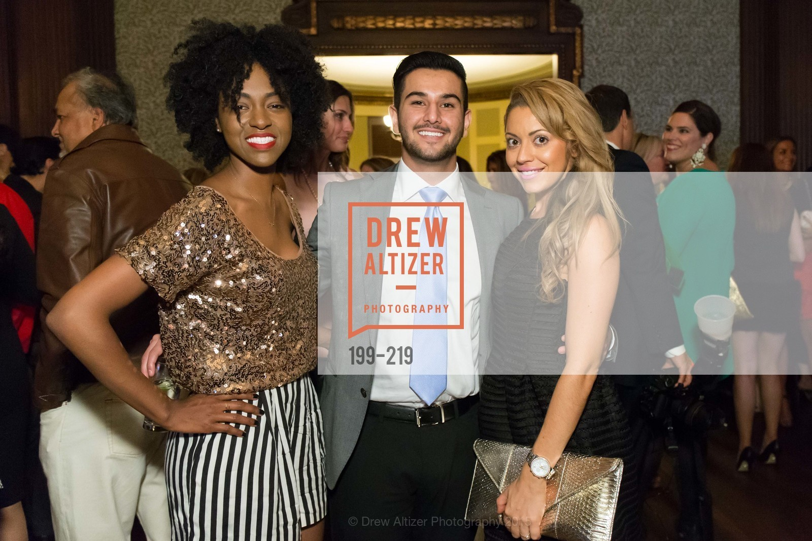 Nicole Newkirk, Obeid Habibi, Jessica Smith, Champagne Reception & Screening of Million Dollar Listing San Francisco, University Club. 800 Powell St, August 5th, 2015,Drew Altizer, Drew Altizer Photography, full-service agency, private events, San Francisco photographer, photographer california