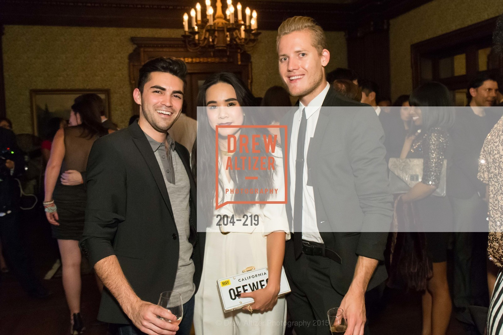 Cameron Paul, Khuyen Do, Mark Olson, Champagne Reception & Screening of Million Dollar Listing San Francisco, University Club. 800 Powell St, August 5th, 2015,Drew Altizer, Drew Altizer Photography, full-service agency, private events, San Francisco photographer, photographer california