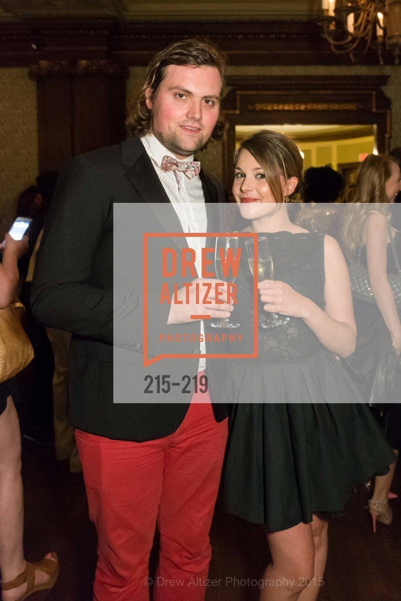 Romain Colignon, Laura Brossard, Champagne Reception & Screening of Million Dollar Listing San Francisco, University Club. 800 Powell St, August 5th, 2015