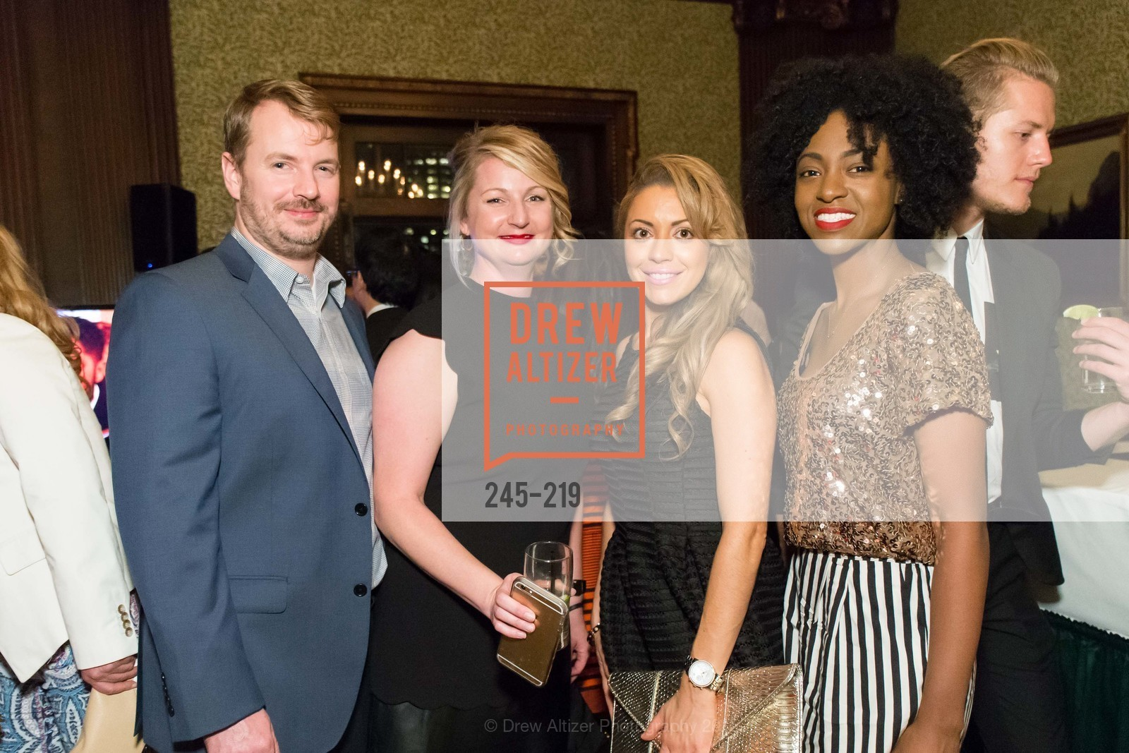 Brennan Plunkett, Jennifer Racco, Jessica Smith, Nicole Newkirk, Champagne Reception & Screening of Million Dollar Listing San Francisco, University Club. 800 Powell St, August 5th, 2015,Drew Altizer, Drew Altizer Photography, full-service agency, private events, San Francisco photographer, photographer california