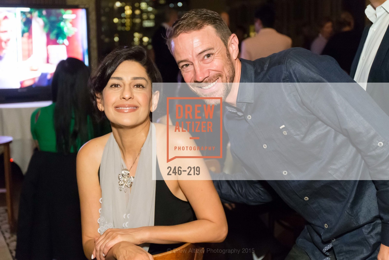Sayareh Farsio, Von Woo, Champagne Reception & Screening of Million Dollar Listing San Francisco, University Club. 800 Powell St, August 5th, 2015,Drew Altizer, Drew Altizer Photography, full-service event agency, private events, San Francisco photographer, photographer California