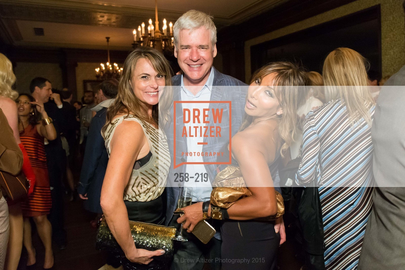 Teresa Rodriguez, David Costello, Karen Tamblyn, Champagne Reception & Screening of Million Dollar Listing San Francisco, University Club. 800 Powell St, August 5th, 2015,Drew Altizer, Drew Altizer Photography, full-service agency, private events, San Francisco photographer, photographer california