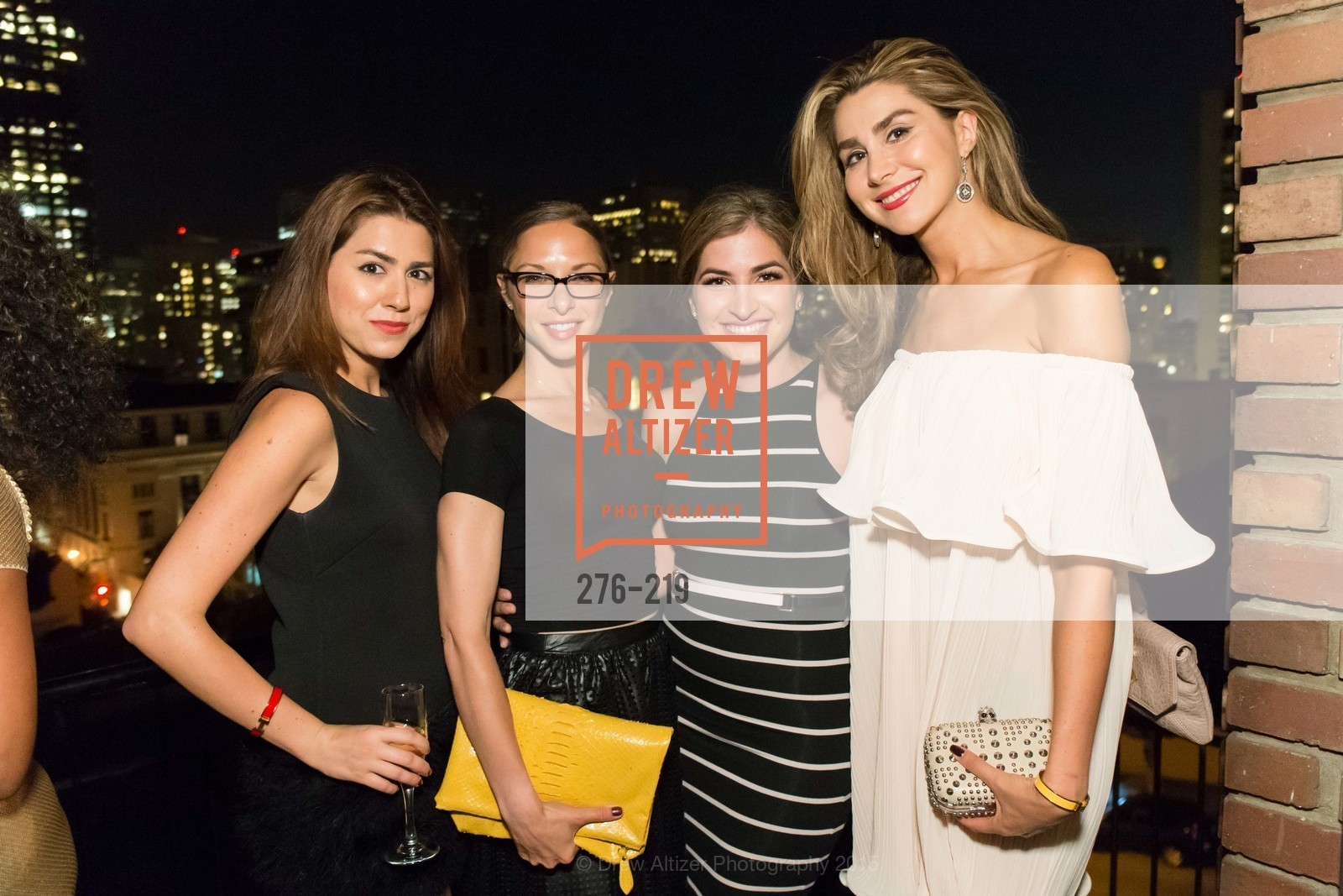 Roya Pakzad, Suzanne Rabikoff, Shugufa Habibi, Ronak Pakzad, Champagne Reception & Screening of Million Dollar Listing San Francisco, University Club. 800 Powell St, August 5th, 2015,Drew Altizer, Drew Altizer Photography, full-service agency, private events, San Francisco photographer, photographer california