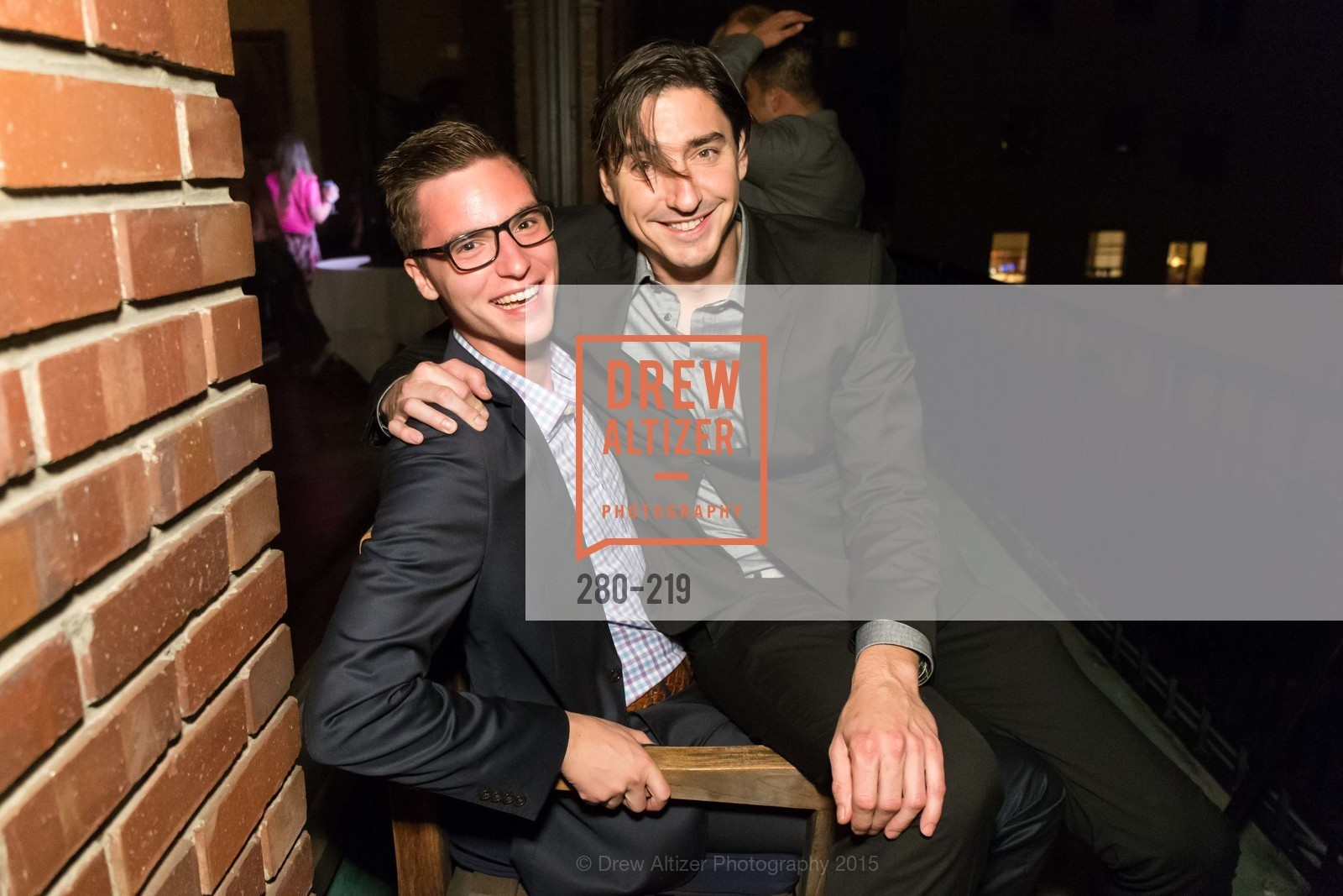 Tyler Arnold, Doug Dalton, Champagne Reception & Screening of Million Dollar Listing San Francisco, University Club. 800 Powell St, August 5th, 2015,Drew Altizer, Drew Altizer Photography, full-service agency, private events, San Francisco photographer, photographer california