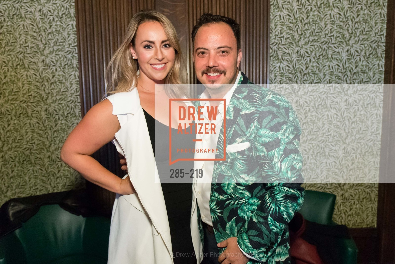 Ann Wisti, Mauricio Garcia, Champagne Reception & Screening of Million Dollar Listing San Francisco, University Club. 800 Powell St, August 5th, 2015,Drew Altizer, Drew Altizer Photography, full-service agency, private events, San Francisco photographer, photographer california
