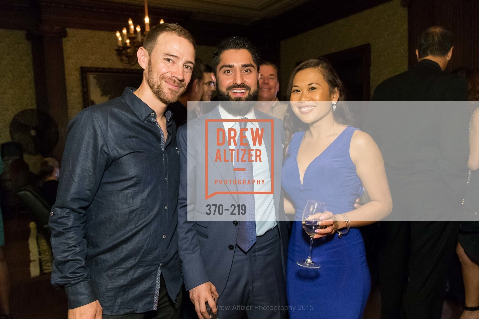 Von Woo, Roh Habibi, Dorothy Chanchaltsy, Champagne Reception & Screening of Million Dollar Listing San Francisco, University Club. 800 Powell St, August 5th, 2015,Drew Altizer, Drew Altizer Photography, full-service agency, private events, San Francisco photographer, photographer california
