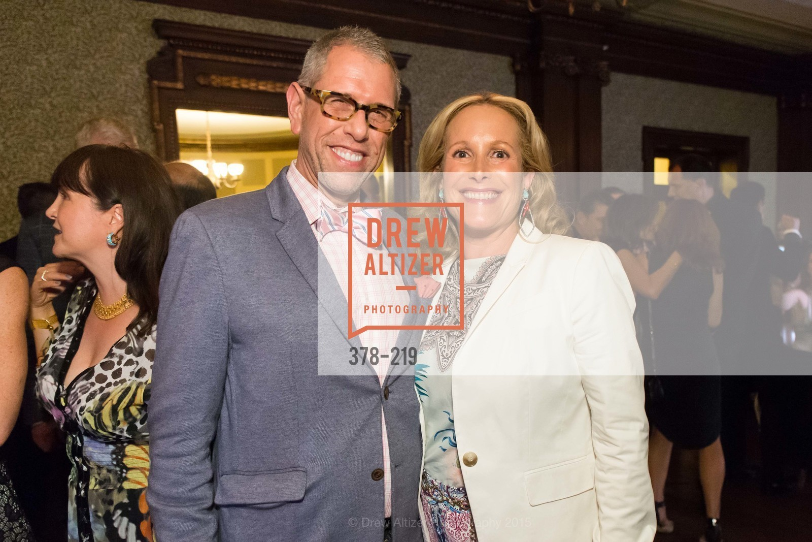 Andrew Freeman, Lorre Erlick, Champagne Reception & Screening of Million Dollar Listing San Francisco, University Club. 800 Powell St, August 5th, 2015,Drew Altizer, Drew Altizer Photography, full-service agency, private events, San Francisco photographer, photographer california