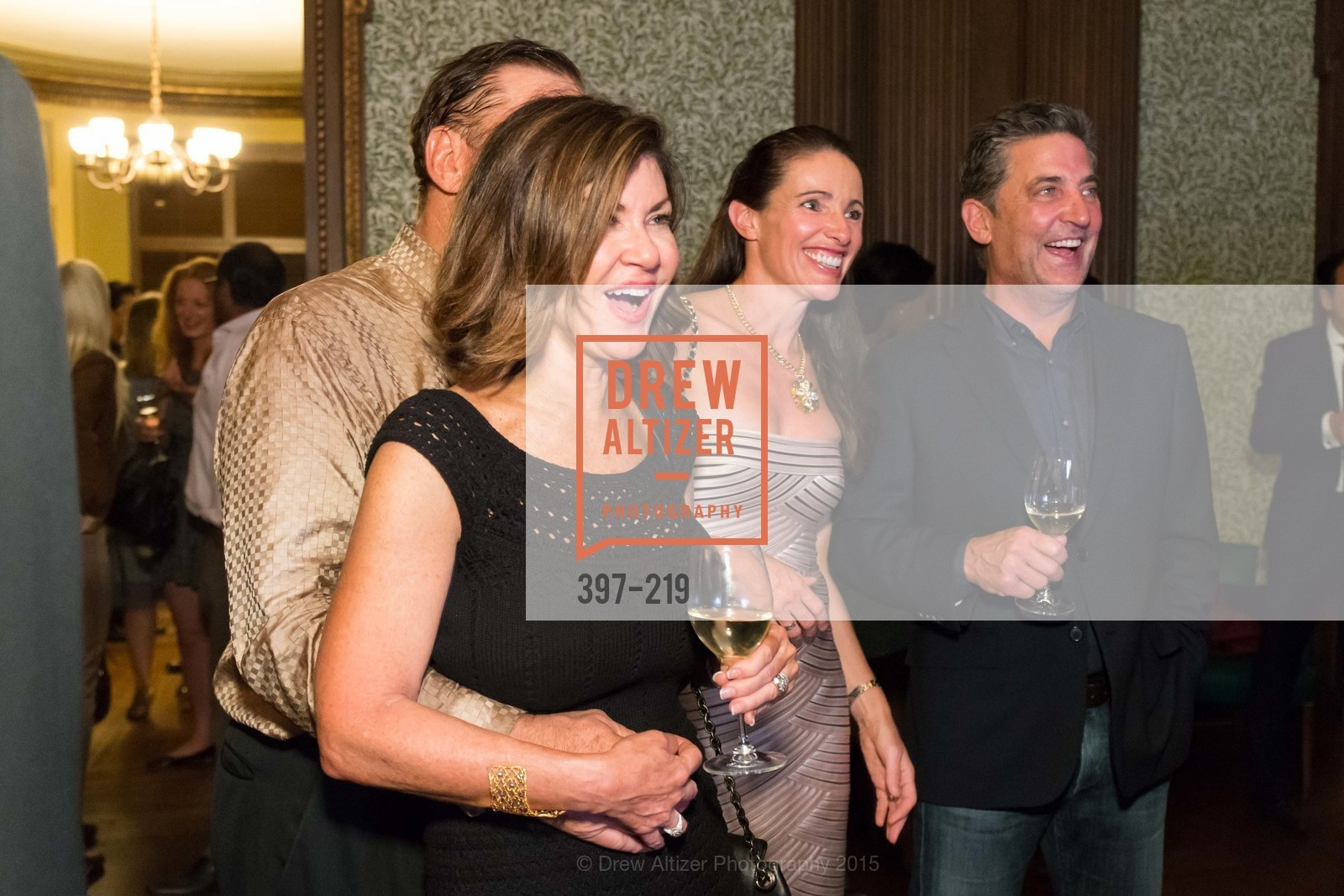 Dianne Yancey, Michael Yancey, Anne Laurey, Dennis Higgs, Champagne Reception & Screening of Million Dollar Listing San Francisco, University Club. 800 Powell St, August 5th, 2015,Drew Altizer, Drew Altizer Photography, full-service agency, private events, San Francisco photographer, photographer california