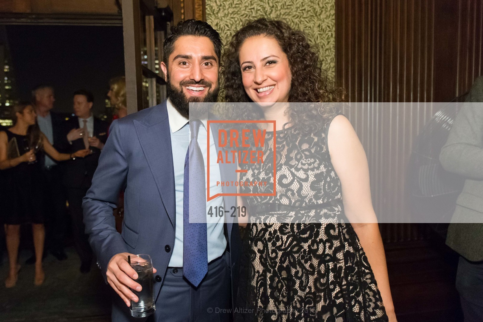 Roh Habibi, Fatima Lavour, Champagne Reception & Screening of Million Dollar Listing San Francisco, University Club. 800 Powell St, August 5th, 2015,Drew Altizer, Drew Altizer Photography, full-service agency, private events, San Francisco photographer, photographer california