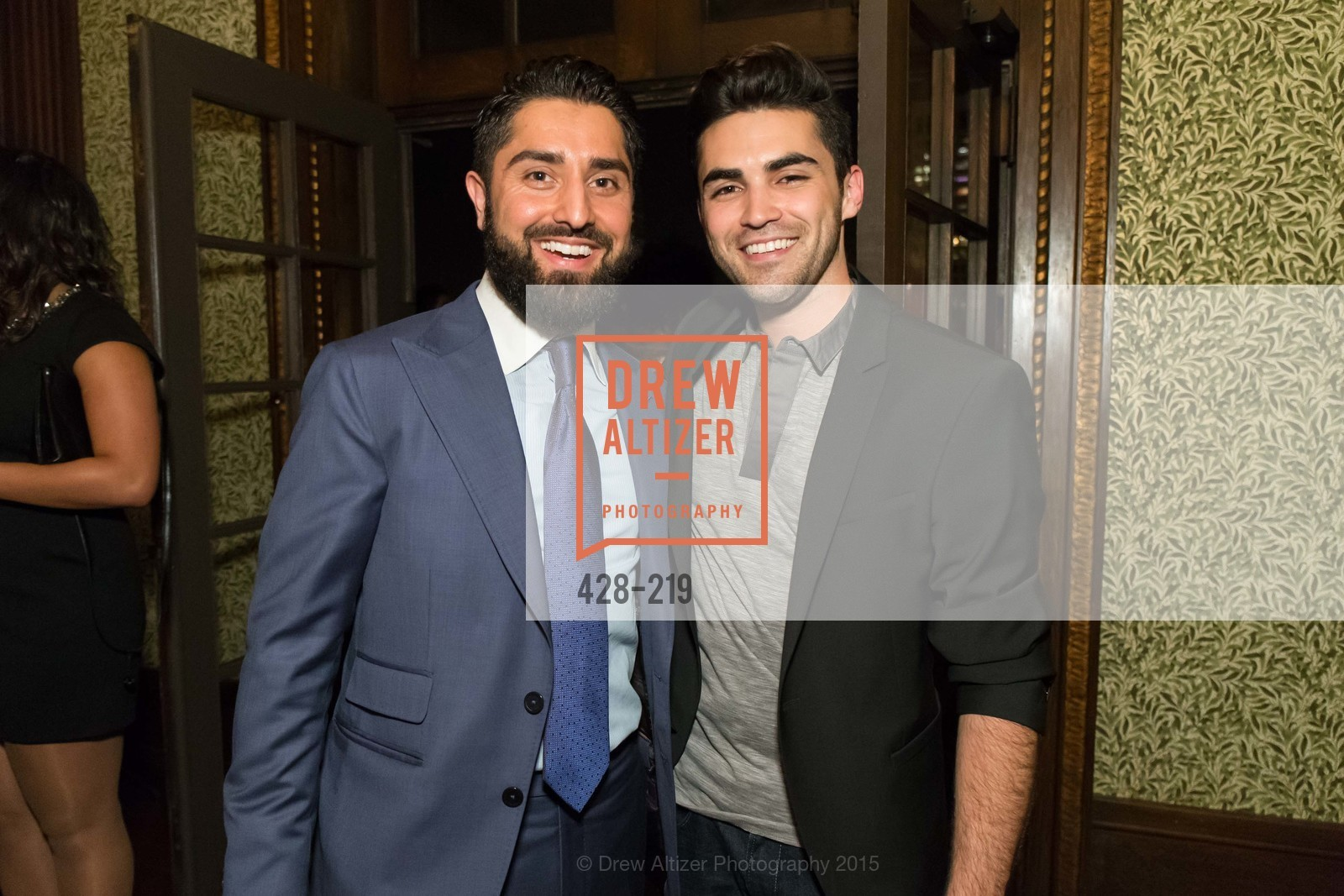 Roh Habibi, Cameron Paul, Champagne Reception & Screening of Million Dollar Listing San Francisco, University Club. 800 Powell St, August 5th, 2015,Drew Altizer, Drew Altizer Photography, full-service agency, private events, San Francisco photographer, photographer california