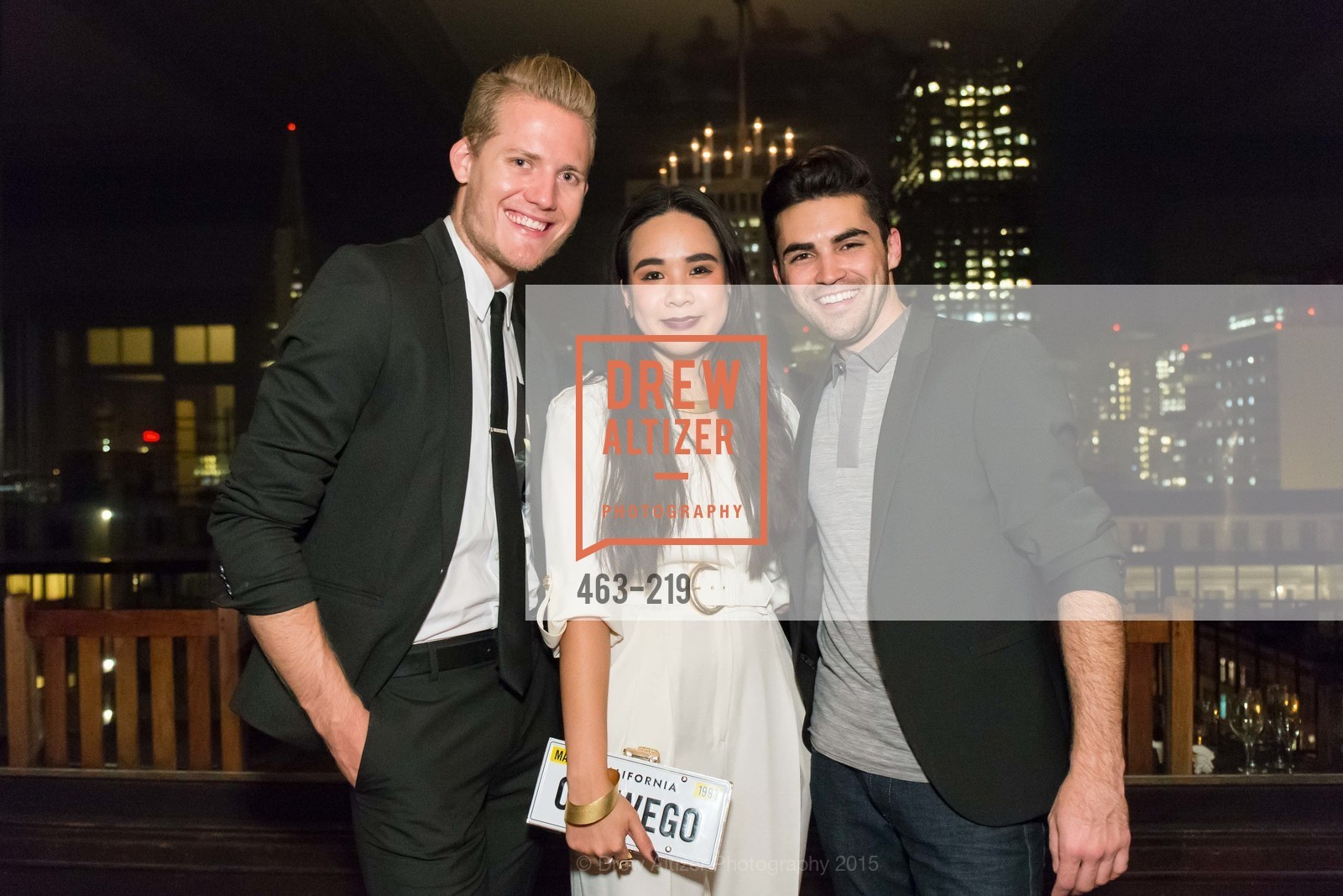 Mark Olson, Khuyen Do, Cameron Paul, Champagne Reception & Screening of Million Dollar Listing San Francisco, University Club. 800 Powell St, August 5th, 2015,Drew Altizer, Drew Altizer Photography, full-service agency, private events, San Francisco photographer, photographer california