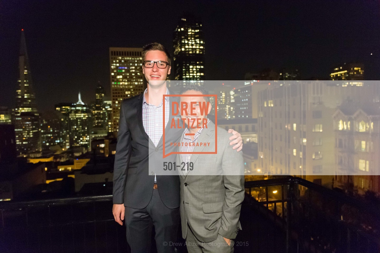 Tyler Arnold, JP Mangalindas, Champagne Reception & Screening of Million Dollar Listing San Francisco, University Club. 800 Powell St, August 5th, 2015,Drew Altizer, Drew Altizer Photography, full-service agency, private events, San Francisco photographer, photographer california