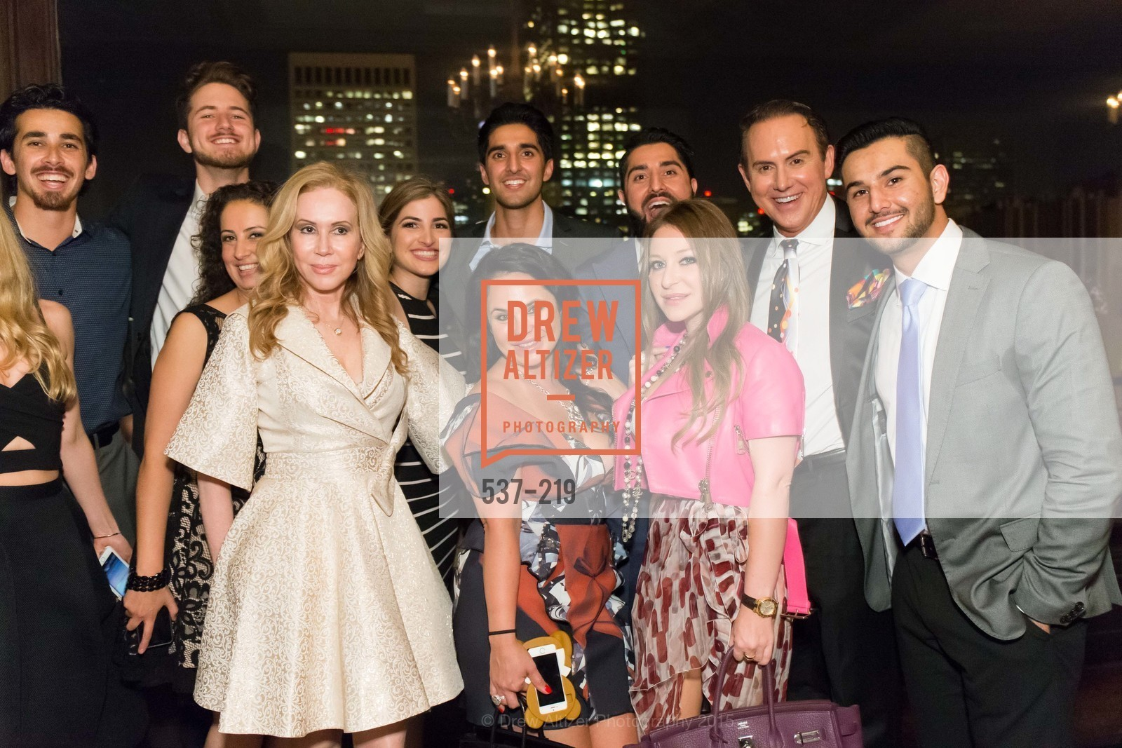 Chaundra Woods, Svetlana Jilenko, Omar Kohgadai, Harris Habibi, Fatima Lavour, Shugufa Habibi, Sophie Azouaou, Ramin Habibi, Roh Habibi, Joel Goodrich, Obeid Habibi, Champagne Reception & Screening of Million Dollar Listing San Francisco, University Club. 800 Powell St, August 5th, 2015,Drew Altizer, Drew Altizer Photography, full-service agency, private events, San Francisco photographer, photographer california
