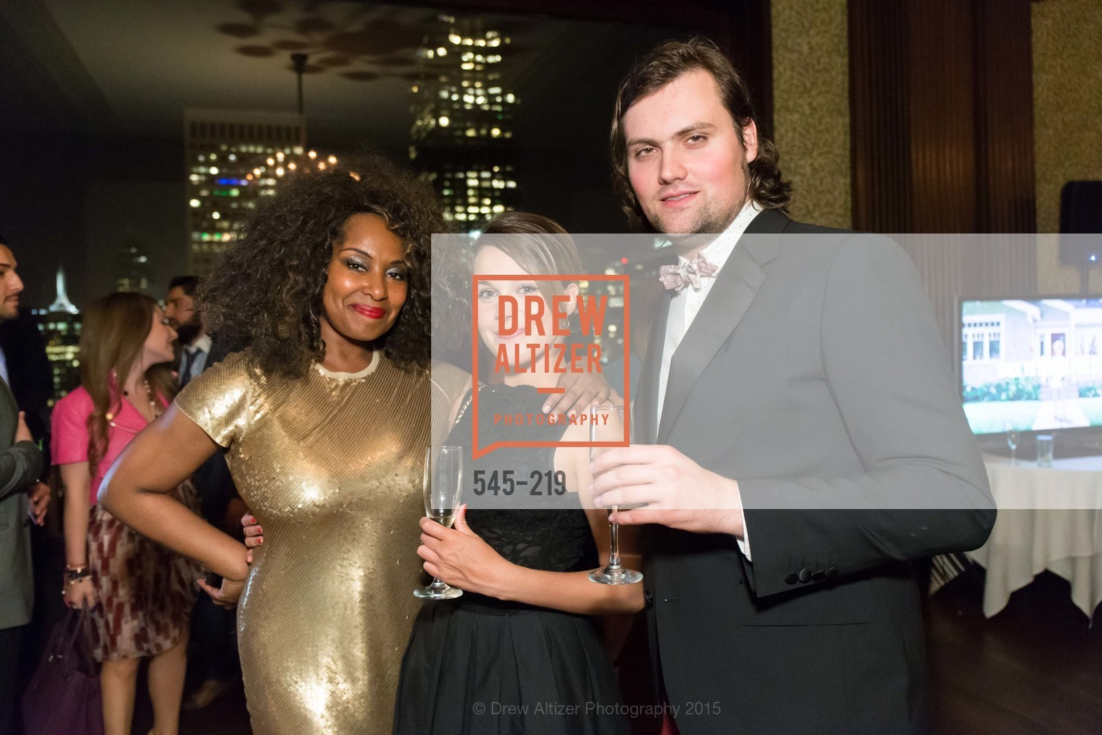 Chaundra Woods, Laura Brossard, Romain Colignon, Champagne Reception & Screening of Million Dollar Listing San Francisco, University Club. 800 Powell St, August 5th, 2015,Drew Altizer, Drew Altizer Photography, full-service agency, private events, San Francisco photographer, photographer california
