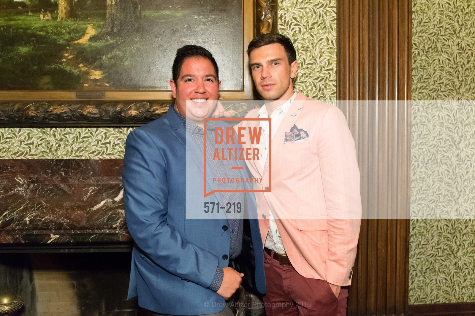 Rafael Davis, Anzor Makharadze, Champagne Reception & Screening of Million Dollar Listing San Francisco, University Club. 800 Powell St, August 5th, 2015,Drew Altizer, Drew Altizer Photography, full-service agency, private events, San Francisco photographer, photographer california