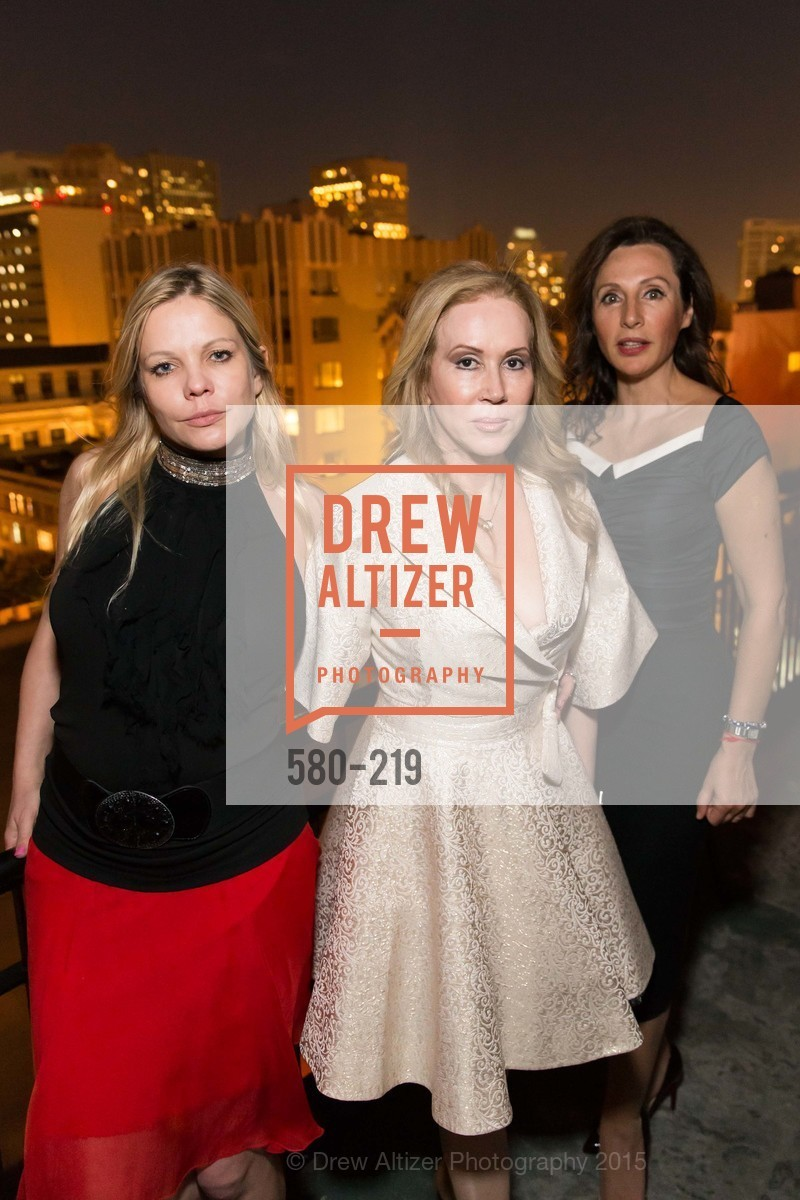 Svetlana Jilenko, Sophie Azouzou, Clara Shayevich, Champagne Reception & Screening of Million Dollar Listing San Francisco, University Club. 800 Powell St, August 5th, 2015,Drew Altizer, Drew Altizer Photography, full-service agency, private events, San Francisco photographer, photographer california