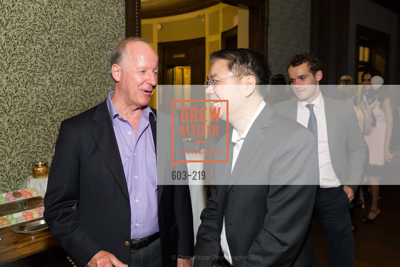 John Henyon, Ken Hamai, Champagne Reception & Screening of Million Dollar Listing San Francisco, University Club. 800 Powell St, August 5th, 2015,Drew Altizer, Drew Altizer Photography, full-service agency, private events, San Francisco photographer, photographer california