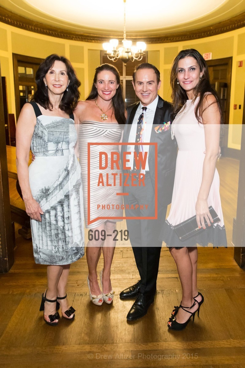 Carolyn Chandler, Anne Laury, Joel Goodrich, Leyla Alhosseini, Champagne Reception & Screening of Million Dollar Listing San Francisco, University Club. 800 Powell St, August 5th, 2015,Drew Altizer, Drew Altizer Photography, full-service agency, private events, San Francisco photographer, photographer california