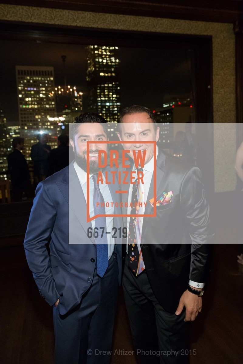 Roh Habibi, Joel Goodrich, Champagne Reception & Screening of Million Dollar Listing San Francisco, University Club. 800 Powell St, August 5th, 2015,Drew Altizer, Drew Altizer Photography, full-service agency, private events, San Francisco photographer, photographer california