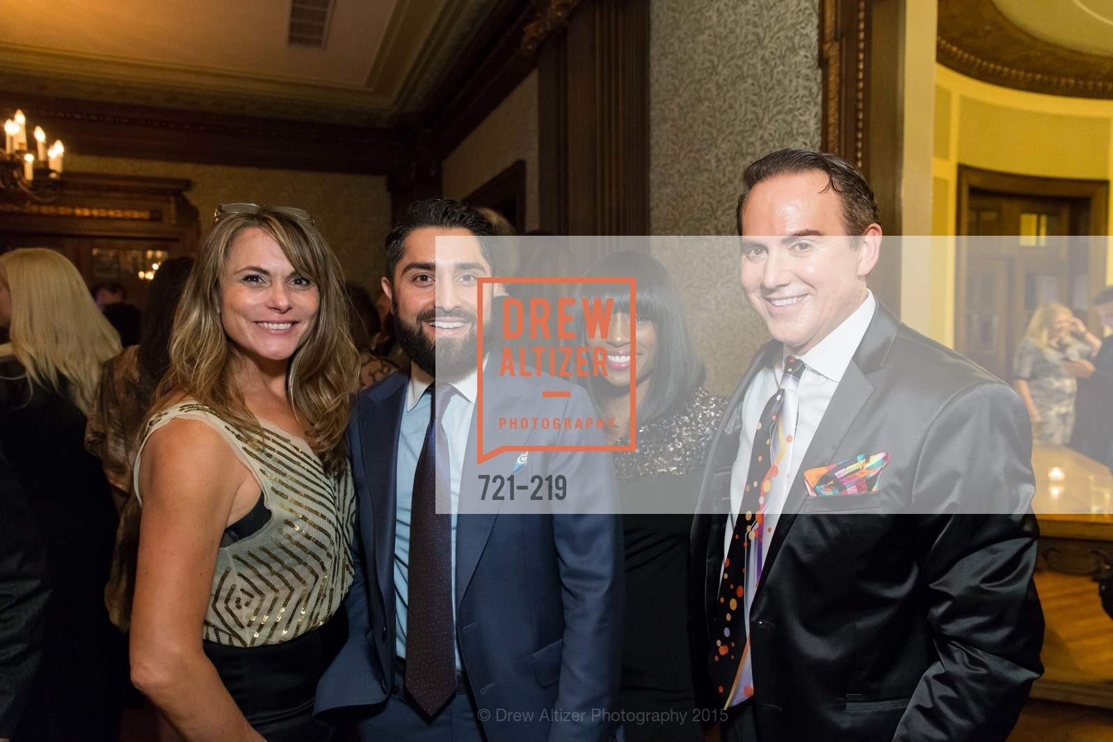 Teresa Rodriguez, Roh Habibi, Pernella Sommerville, Joel Goodrich, Champagne Reception & Screening of Million Dollar Listing San Francisco, University Club. 800 Powell St, August 5th, 2015,Drew Altizer, Drew Altizer Photography, full-service agency, private events, San Francisco photographer, photographer california