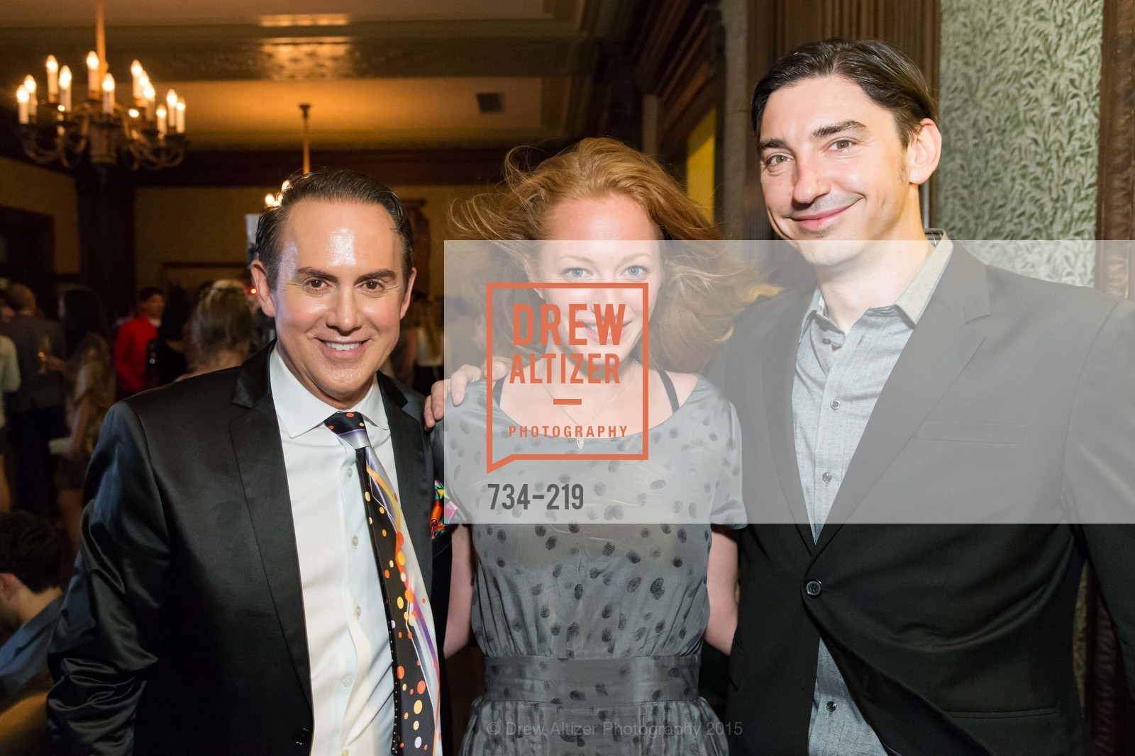 Joel Goodrich, Gina Klein, Douglas Dalton, Champagne Reception & Screening of Million Dollar Listing San Francisco, University Club. 800 Powell St, August 5th, 2015,Drew Altizer, Drew Altizer Photography, full-service event agency, private events, San Francisco photographer, photographer California