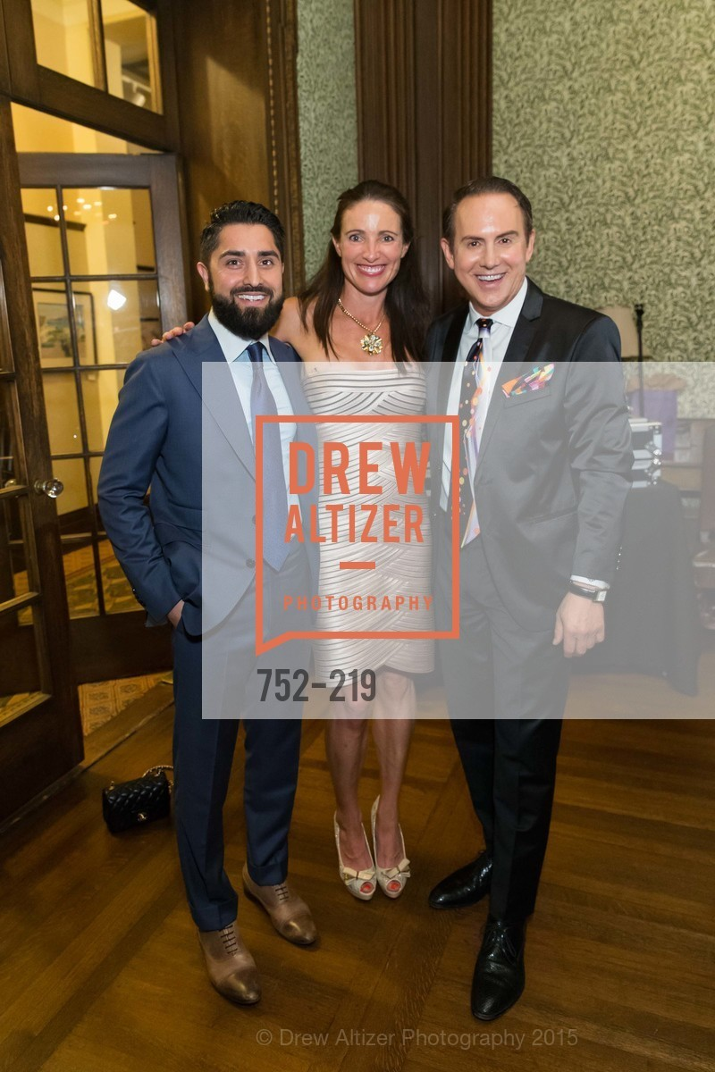 Ron Habibi, Joel Goodrich, Anne Laury, Champagne Reception & Screening of Million Dollar Listing San Francisco, University Club. 800 Powell St, August 5th, 2015,Drew Altizer, Drew Altizer Photography, full-service agency, private events, San Francisco photographer, photographer california