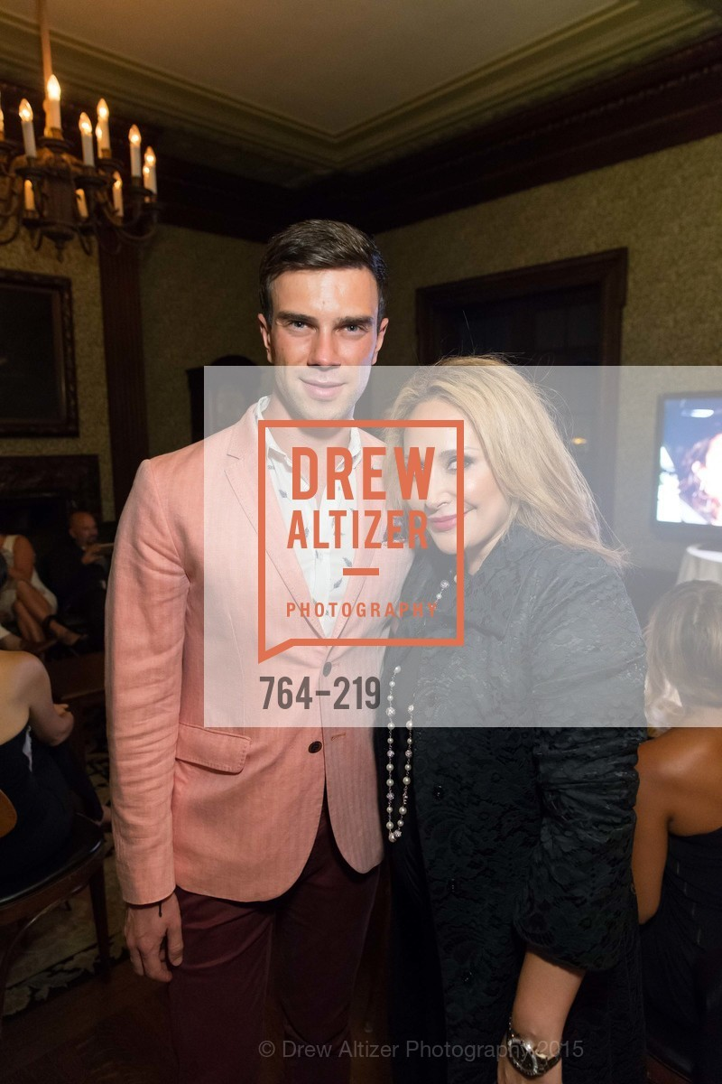 Anzor Makharadze, Brenda Zarat, Champagne Reception & Screening of Million Dollar Listing San Francisco, University Club. 800 Powell St, August 5th, 2015,Drew Altizer, Drew Altizer Photography, full-service agency, private events, San Francisco photographer, photographer california
