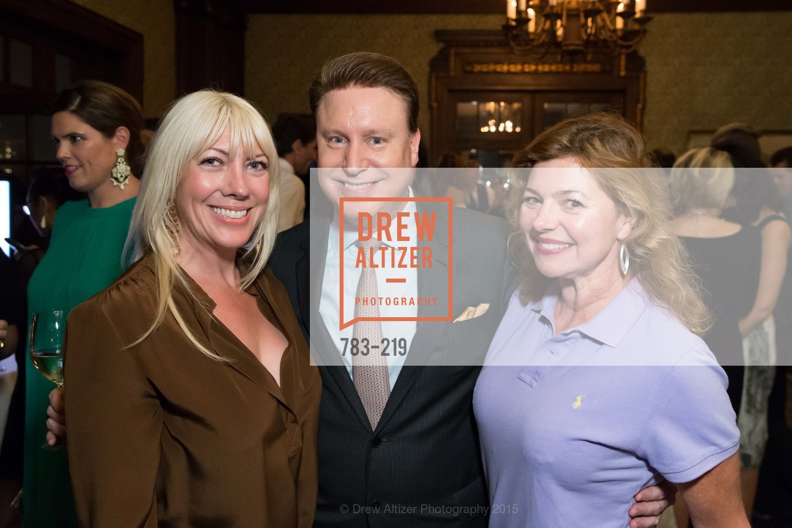 Gina Milano, Doug Waggener, Lizabeth Hill, Champagne Reception & Screening of Million Dollar Listing San Francisco, University Club. 800 Powell St, August 5th, 2015,Drew Altizer, Drew Altizer Photography, full-service agency, private events, San Francisco photographer, photographer california