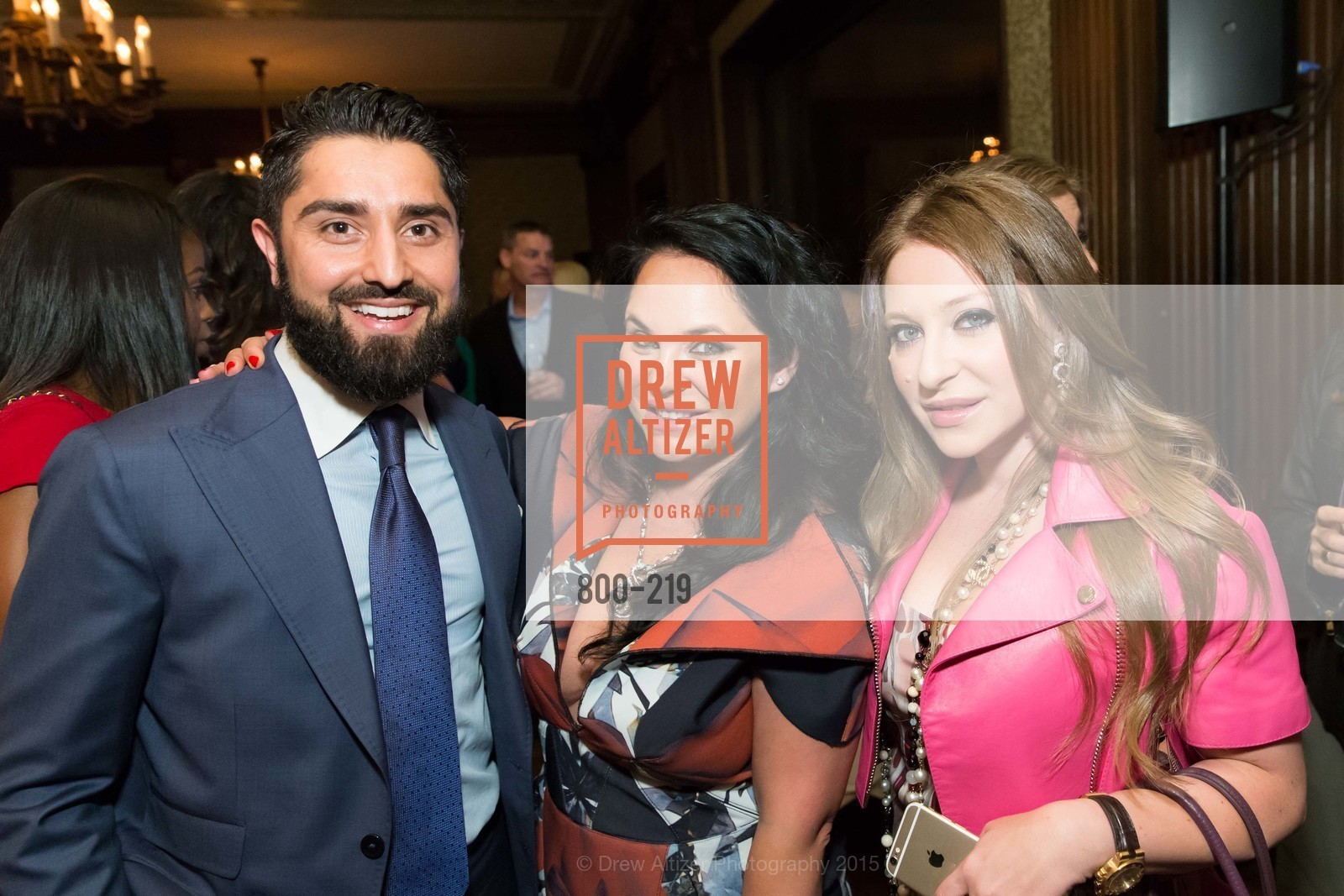Roh Habibi, Rada Katz, Vita Vaysman, Champagne Reception & Screening of Million Dollar Listing San Francisco, University Club. 800 Powell St, August 5th, 2015,Drew Altizer, Drew Altizer Photography, full-service agency, private events, San Francisco photographer, photographer california