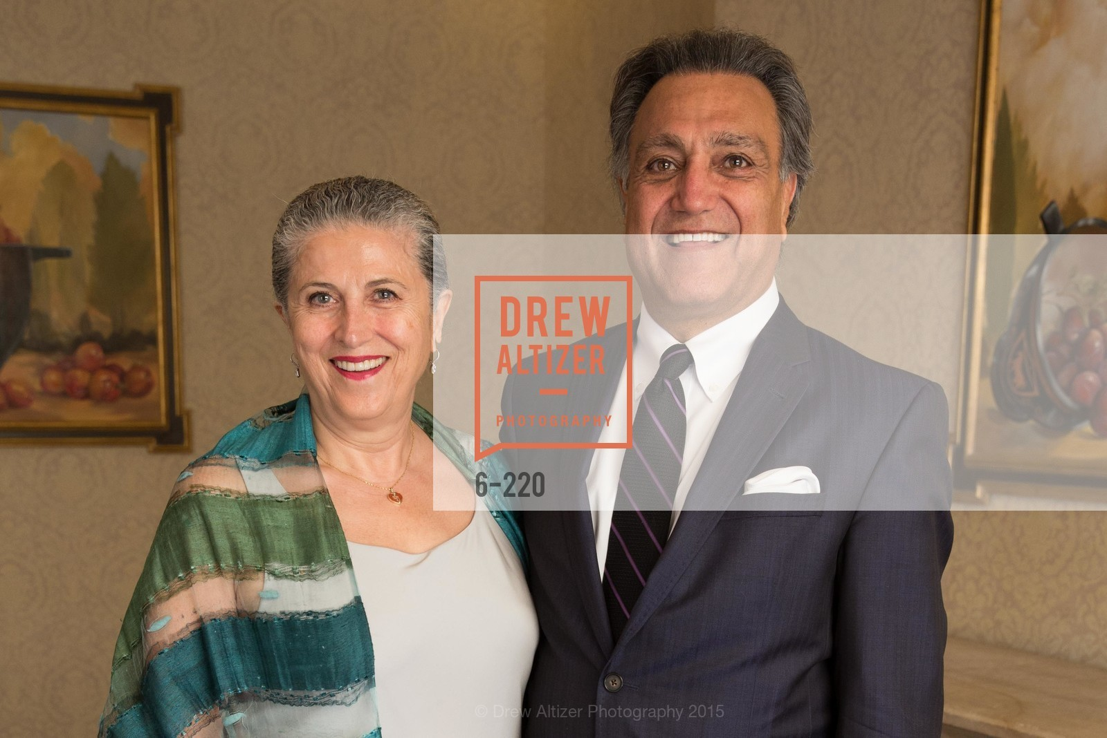 Nahid Nassiri, Mark Attarha, NHG Real Estate Luncheon, The Fairmont Hotel, Fountain Room. 950 Mason St, August 3rd, 2015,Drew Altizer, Drew Altizer Photography, full-service event agency, private events, San Francisco photographer, photographer California