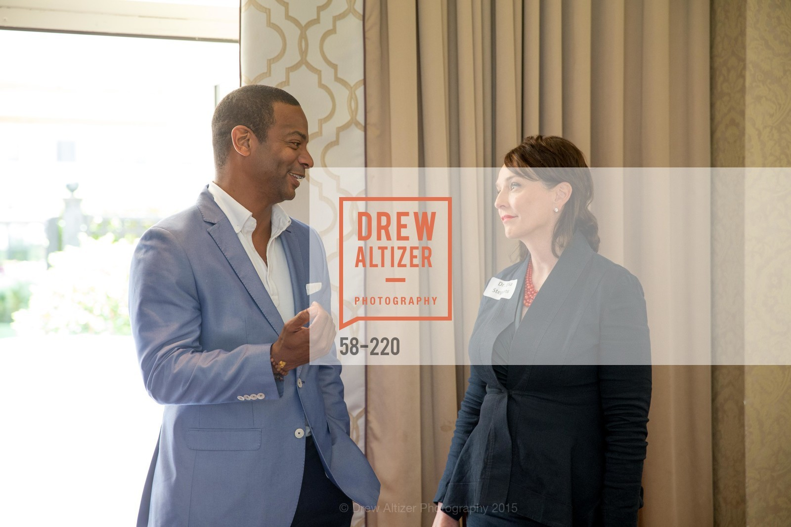 Eric Johnson, Elisa Stephens, NHG Real Estate Luncheon, The Fairmont Hotel, Fountain Room. 950 Mason St, August 3rd, 2015,Drew Altizer, Drew Altizer Photography, full-service event agency, private events, San Francisco photographer, photographer California