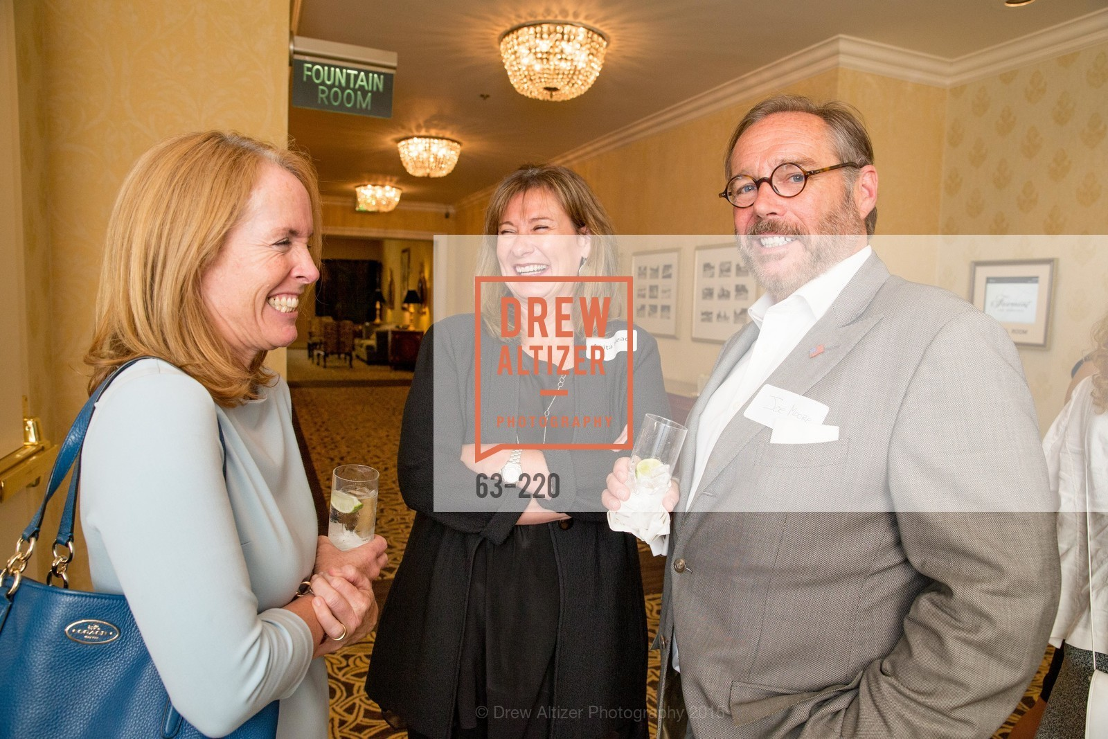 Maureen Terris, Anita Head, Joe Moore, NHG Real Estate Luncheon, The Fairmont Hotel, Fountain Room. 950 Mason St, August 3rd, 2015,Drew Altizer, Drew Altizer Photography, full-service agency, private events, San Francisco photographer, photographer california