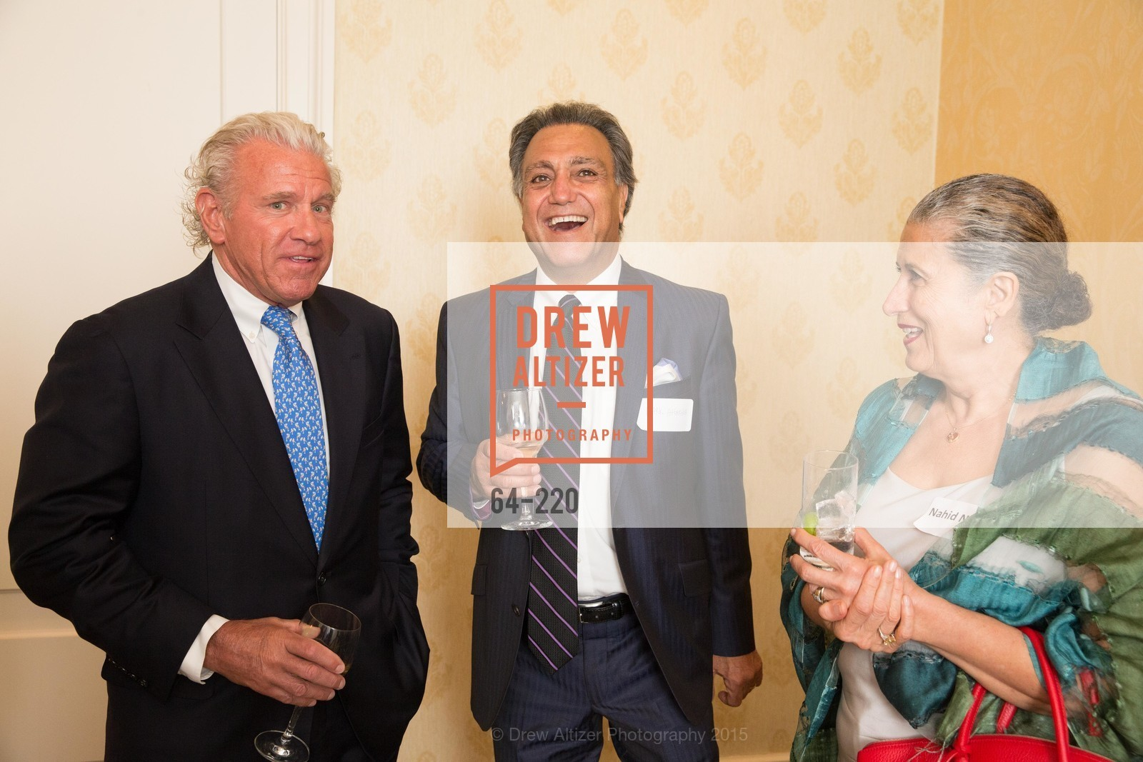 Bill Bullock, Mark Attarha, Nahid Nassiri, NHG Real Estate Luncheon, The Fairmont Hotel, Fountain Room. 950 Mason St, August 3rd, 2015,Drew Altizer, Drew Altizer Photography, full-service agency, private events, San Francisco photographer, photographer california