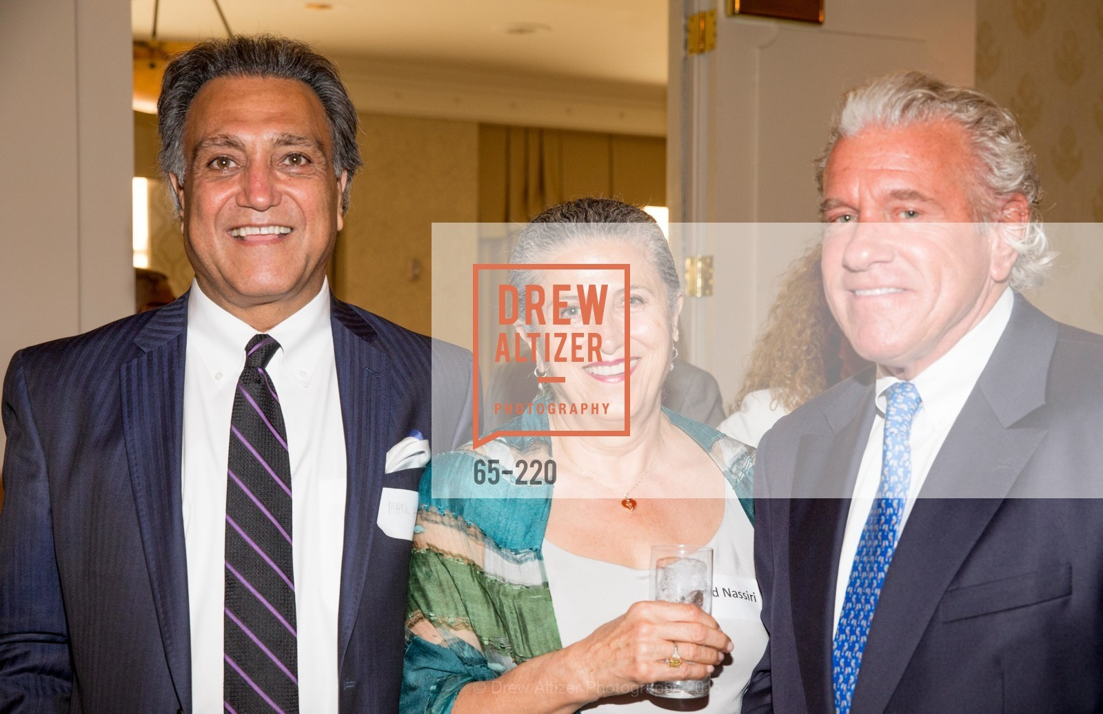 Mark Attarha, Nahid Nassiri, Bill Bullock, NHG Real Estate Luncheon, The Fairmont Hotel, Fountain Room. 950 Mason St, August 3rd, 2015,Drew Altizer, Drew Altizer Photography, full-service agency, private events, San Francisco photographer, photographer california