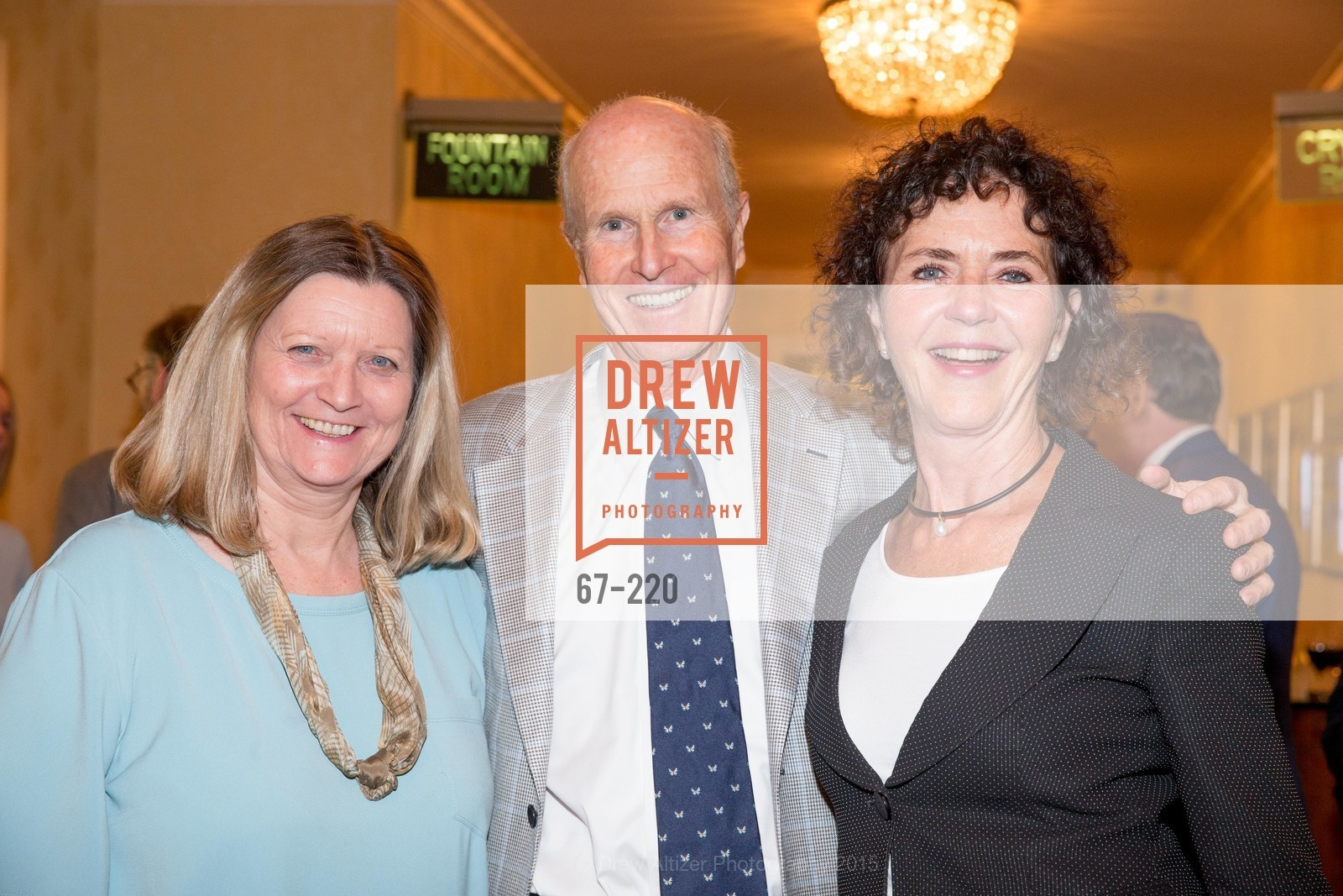 Dona Crowder, Charles Moore, Betty Brachman, NHG Real Estate Luncheon, The Fairmont Hotel, Fountain Room. 950 Mason St, August 3rd, 2015,Drew Altizer, Drew Altizer Photography, full-service agency, private events, San Francisco photographer, photographer california