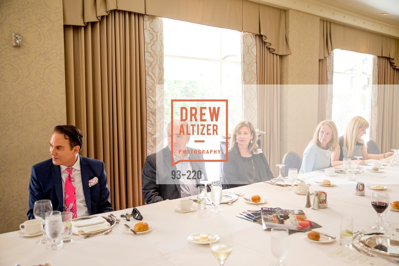 Joel Goodrich, David Papale, Anita Head, Maureen Terris, NHG Real Estate Luncheon, The Fairmont Hotel, Fountain Room. 950 Mason St, August 3rd, 2015,Drew Altizer, Drew Altizer Photography, full-service agency, private events, San Francisco photographer, photographer california