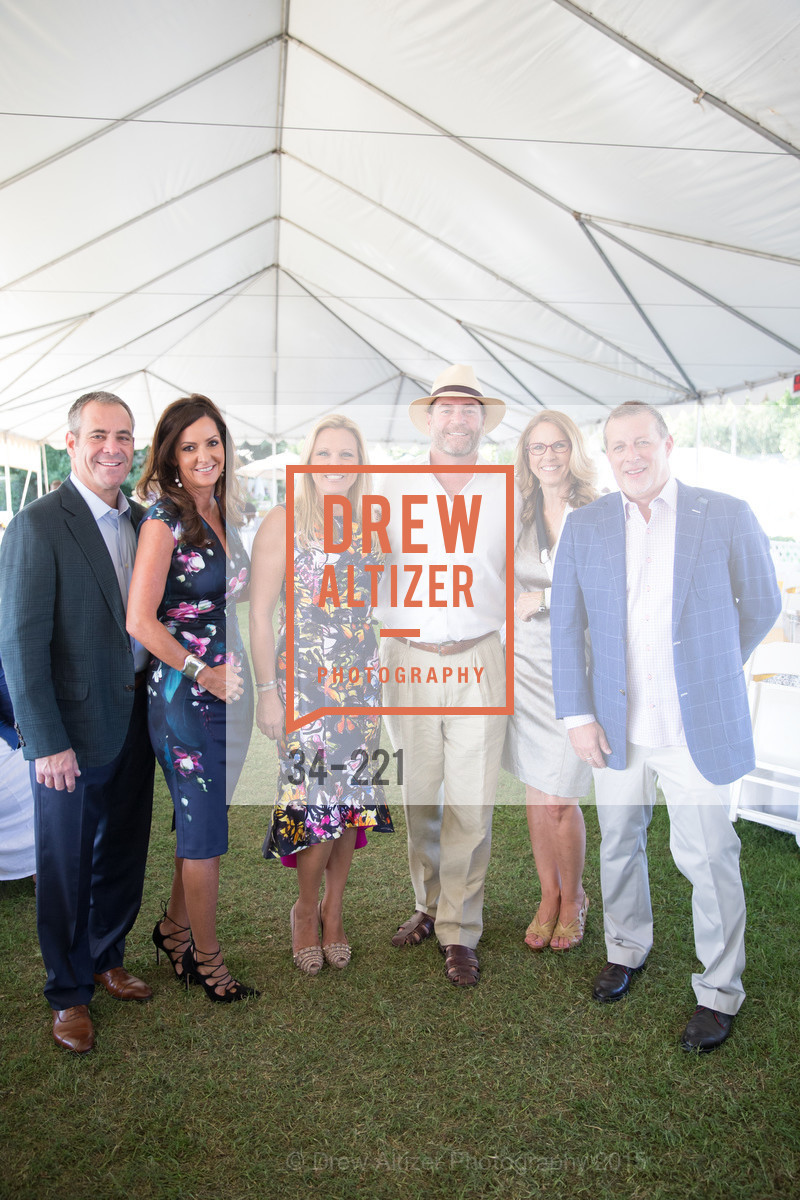 Matthew Haberkorn, Linda Thomas, Lisa Newton, Tom Newton, Suzanne Weiss, Bruce Good, Menlo Charity Horse Show Gala, Menlo Circus Club. 190 Park Lane, August 7th, 2015,Drew Altizer, Drew Altizer Photography, full-service event agency, private events, San Francisco photographer, photographer California
