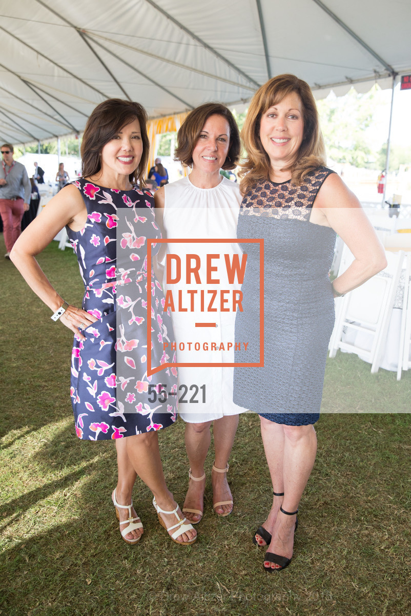 Michelle Hirsch, Charlene Cogan, Sandy Levison, Menlo Charity Horse Show Gala, Menlo Circus Club. 190 Park Lane, August 7th, 2015,Drew Altizer, Drew Altizer Photography, full-service agency, private events, San Francisco photographer, photographer california