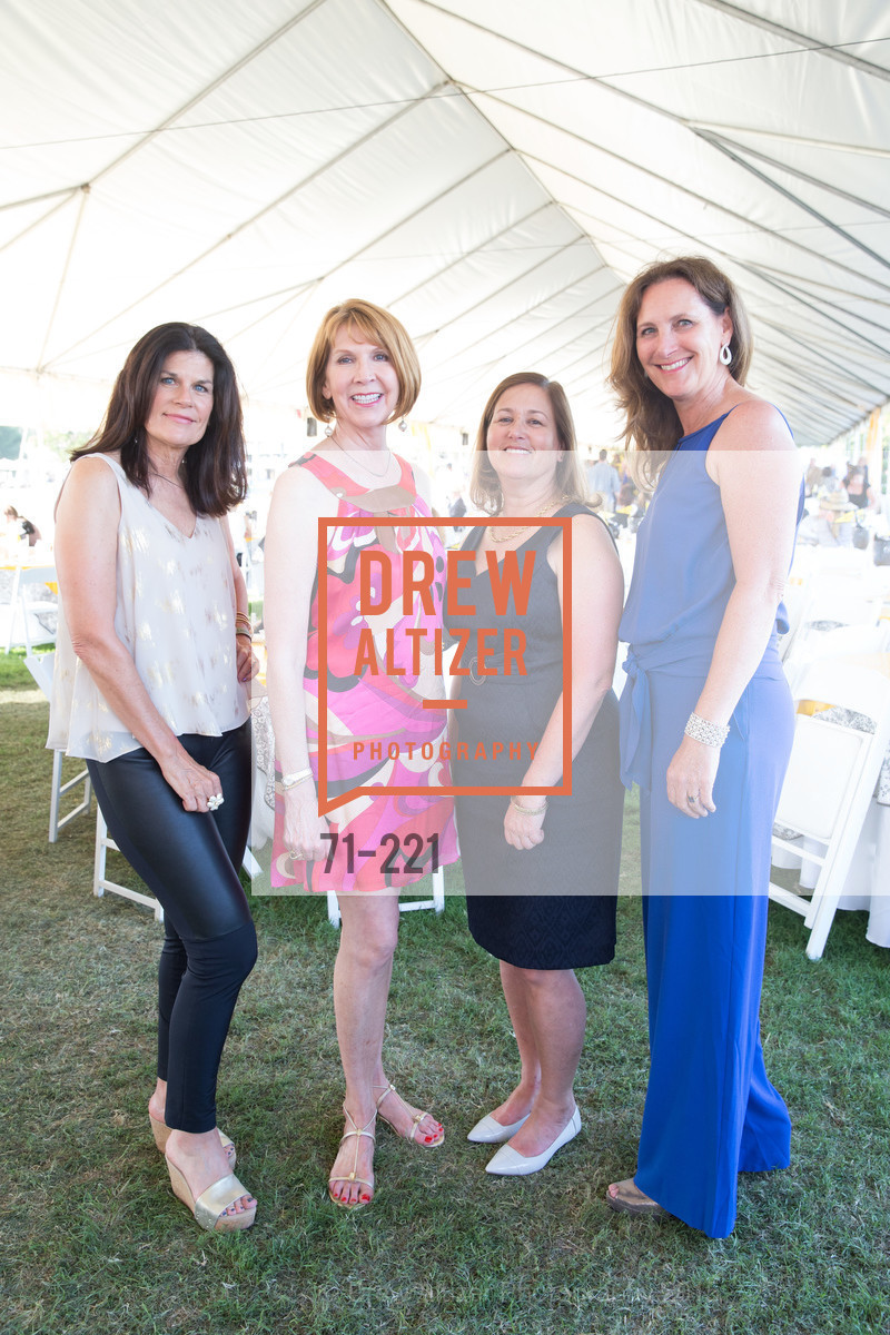 Letty Harrison, Suzanne Cheves, Judy Quackenbush, Suzanne Rischman, Menlo Charity Horse Show Gala, Menlo Circus Club. 190 Park Lane, August 7th, 2015,Drew Altizer, Drew Altizer Photography, full-service agency, private events, San Francisco photographer, photographer california